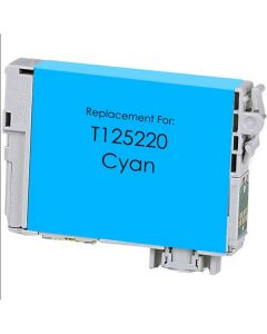 KLM Remanufactured Epson T125 Cyan Ink Cartridge (T125220)