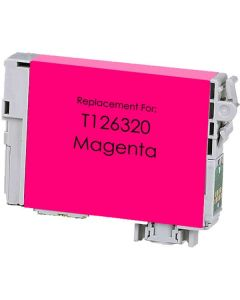 KLM Remanufactured Epson T126 Magenta Ink Cartridge (T126320)