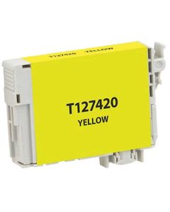 KLM Remanufactured Epson T127 Yellow Ink Cartridge (T127420)