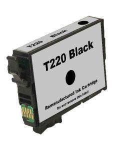 KLM Remanufactured Epson T220 Black Ink Cartridge (T220120)