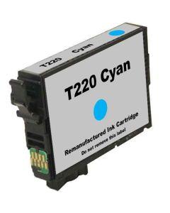 Remanufactured Epson T220 Cyan Ink Cartridge (T220220)