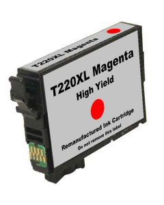 KLM Remanufactured Epson T220XL Magenta High Yield Ink Cartridge (T220XL320)