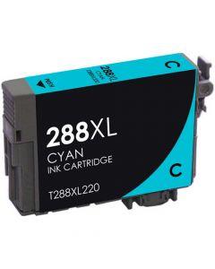 KLM Remanufactured Epson T288XL Cyan Ink Cartridge T288XL220