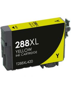 KLM Remanufactured Epson T288XL Yellow Ink Cartridge T288XL420