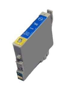 KLM Remanufactured Epson T0542 Cyan Ink Cartridge, (T054220)