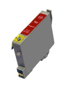 KLM Remanufactured Epson T0547 Red Ink Cartridge, (T054720)